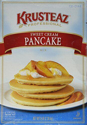 Pack of 1 5 Pounds Krusteaz Sweet Cream Pancake Mix Just Add Water 5 Pound