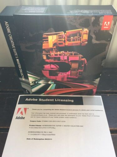 With Photoshop etc ADOBE Creative Suite CS5 MASTER COLLECTION for Windows