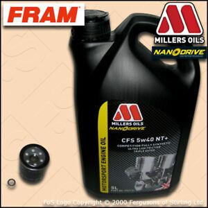 service kits honda civic type-r ep3 oil filter millers motorsport cfs 5w40  nt+oil