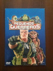 PEQUENOS-GUERREROS-DVD-PAL-2-amp-4-SLIMCASE-CARTON-106-MIN-EN-BUEN-ESTADO