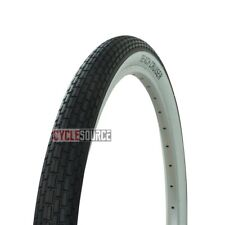 """TWO Continental Contact Bicycle TIRES /& TUBES 20/"""" x 1-3//8/""""//35mm Whitewall"""