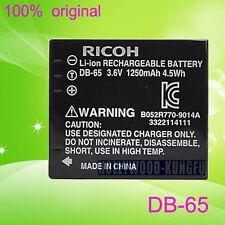 Genuine Original RICOH DB-65 Battery for R5 R4 R3 R30 GRD4 GRD3 GRD2 GRD GX100