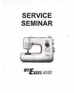 janome new home my excel 4023 sewing machine service guide repair rh ebay com Changing Janome DC 1 050 Feet Janome 350E Tutorials