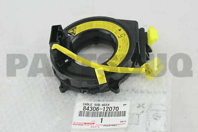 8430658011 Genuine Toyota CABLE SUB-ASSY SPIRAL 84306-58011