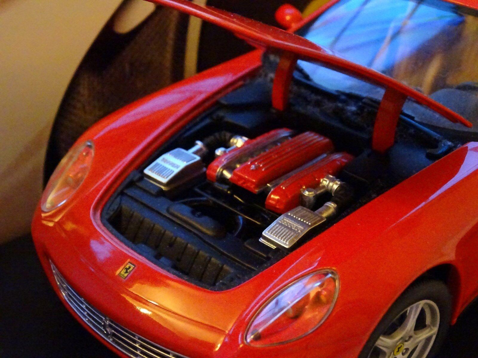 1/18 FERRARI 612 SCAGLIETTI Coupe Rosso Crema Rosso Nascondi 456 599 RARA