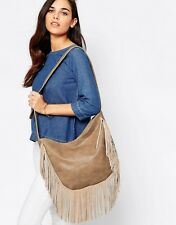 NEW GLAMOROUS @ TOPSHOP FRINGE TASSEL SHOULDER BAG CROSS BODY CHIC BOHO LOOK