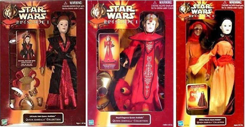 Hasbro Star Wars Episode I Ultimate Hair Queen Amidala - Queen Amidala Collectio