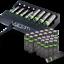 miniature 3 - Rechargeable Haute capacité AAA/AA Batteries Et 8-Way dock de chargement-Venom