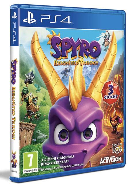 Spyro Reignited Trilogy - Ps4 Pal/Italiano, Sigillato Nuovo Costo 30,99€ Spedito