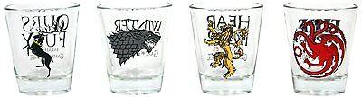 Dark Horse - A Game Of Thrones - Shot Glasses - Set Of 4