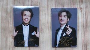 Details about SUPER JUNIOR super show 7 SS7 Banana cake photocard Set  Donghae Eunhyuk D&E