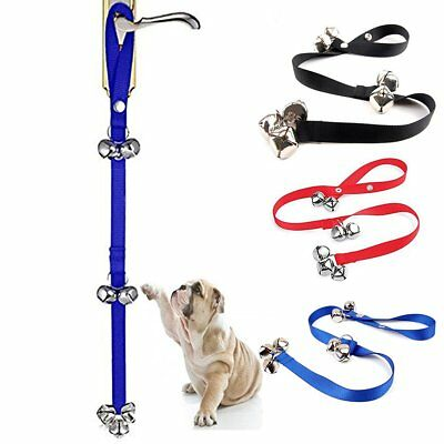 Dog Potty Door Bell Training Bells Adjustable Rope Housebreaking Housetraining