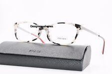 Prada VPR 27R KAD-1O1 White Havana/Red 54mm RX Eyeglasses NWC AUTH PR 27RV