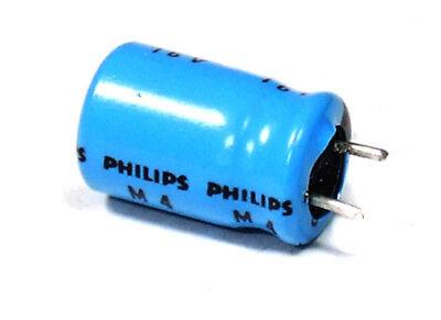 Elektrolyt-Kondensatoren Elko 5x Philips 10uF 10µF 50V Electrolytic Capacitors