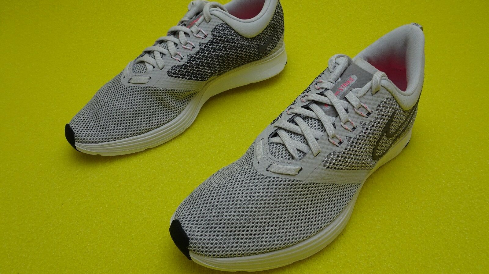 c688455b709a0 Nike Zoom Strike Women s Running Shoes Grey Grey Grey Gunsmoke White  AJ0188-006 8 - 13 88bf09