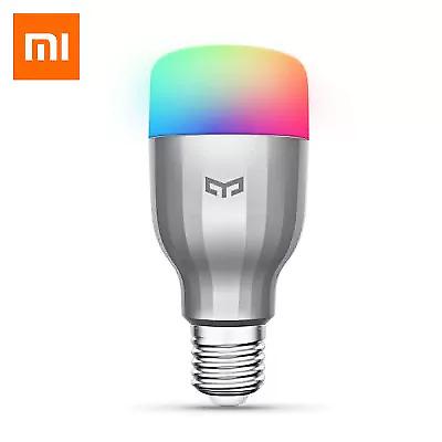 Xiaomi Yeelight Smart LED Bulb RGB Colour E27 Screw 220V 9W APP Alexa Echo IFTTT