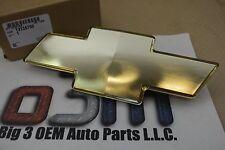 Chevrolet Silverado Tahoe Suburban Gold Bow Tie Front Grille Emblem new OEM