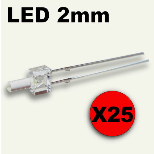 25pcs free resistor 317//25# LED 2mm RED tower LED