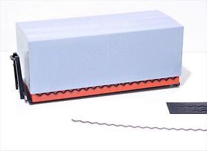 608 1:87 4x Planenspanner Gummis schwarz 68mm lang für Herpa Umbau Eigenbau