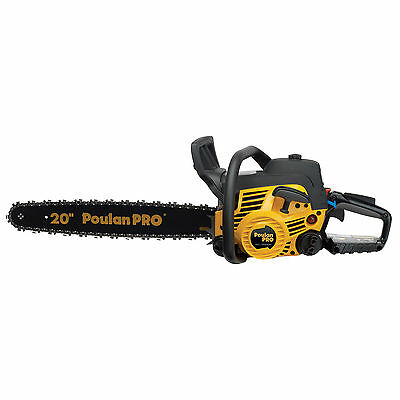 Poulan Pro 20 Inch 50CC 2 Cycle Gas Chainsaw, Certified Refurbished | PP5020A