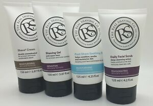 New-The-Real-Shaving-Co-Facial-Scrub-Face-Ideal-Gifr-Sensitive-Skin