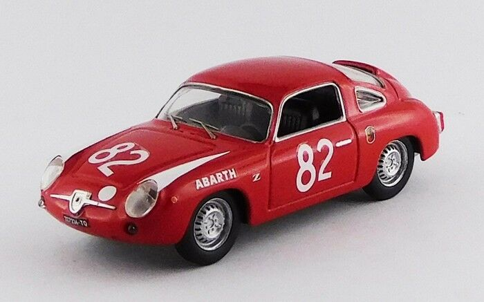 BEST MODEL BES9669 - Abarth 850 Zagato 1er 500KM Nurburgring - 1960 1 43