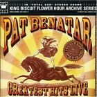 Greatest Hits Live Pat Benatar Audio CD