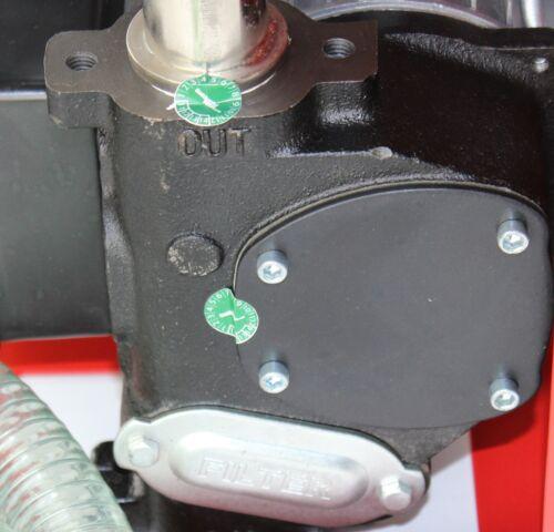 230V Diesel Pumpe Tankstelle 8 M Gummi Schlauch Magnet-Abscheider Tank Anlage