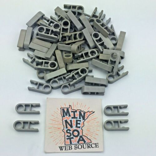 Lot of 200 Knex Gray Single End Clip 1 Position Standard  K/'nex Parts Pieces