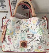 Disney Dooney & Bourke Limited AP Passholder Walk In The Park Crossbody Tote Bag