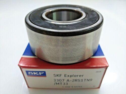 SKF 3307A 2RS1TN9//MT33 Double Row Angular Contact Bearing 35x80x34.9mm