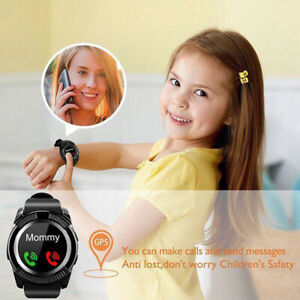 Waterproof-V8-Smart-Watch-Bluetooth-SIM-Phone-amp-Camera-For-Android-iOS-Kids-Gift