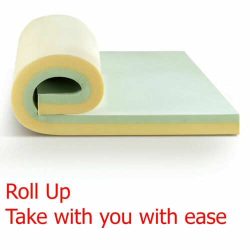 Memory Foam Mattress Topper Camping Pad Short Queen Size For RV Camper Bed