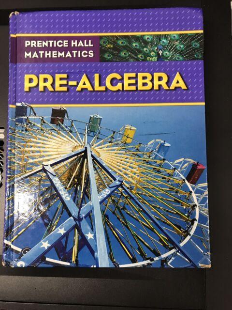 Prentice Hall Mathematics Pre-Algebra Hardcover USED