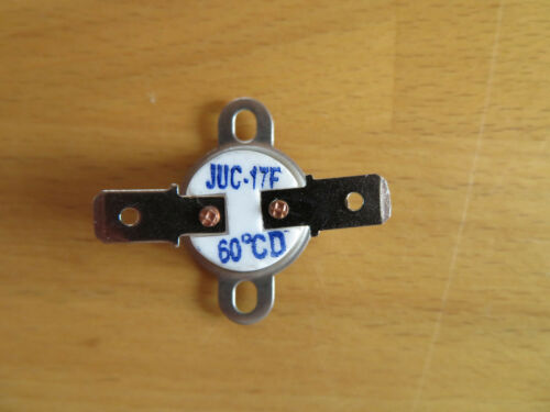 Bimetallschalter,Temperatur Schalter,Temperaturschalter 60°C,Öffner 250 V,