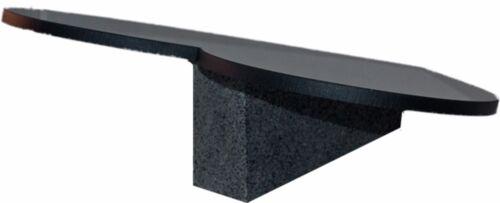 Stütze in Granit Grabplatte HERZ Wunsch Gravur Grabstein-h67s 36 x 38 cm