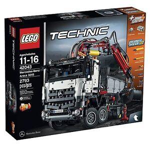 Lego 6100202 Technic 42043 Mercedes Benz Arocs 3245 Building Kit Ebay