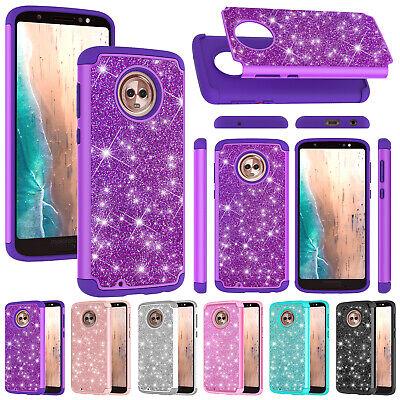 For Motorola Moto G7 Power Z4 Play G6 E5 Play Bling Shockproof Hybrid Case Cover Ebay