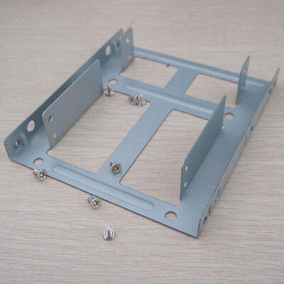 PC two-layer 2.5inch to 3.5inch sata ide ssd HDD hard drive Cage Tray Caddy Rack