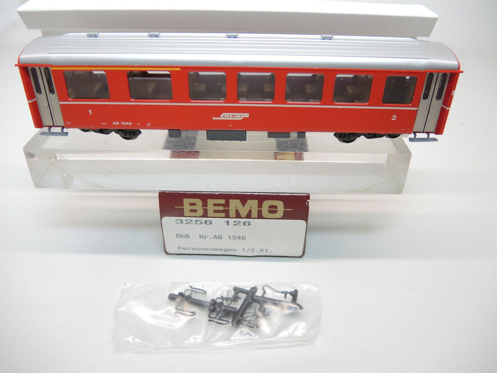 BEMO 3256 126 vagoni della RHB 1./2. classe, ab1546, TOP, OVP