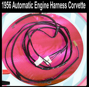 Corvette-1956-Automatic-Lectric-Limited-Brand-Wiring-Harness-Ignition-Engine