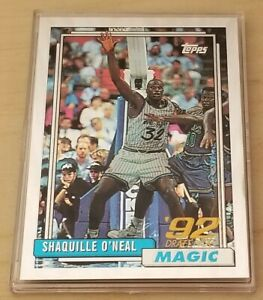 SHAQUILLE O'Neal Rookie 1996-97 Finest Topps #362 Reprint #32 / Mint+
