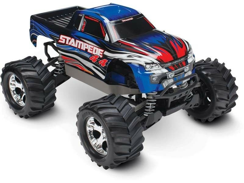 Traxxas stampede 4x4 Brushed tq 2,4ghz xl-5 + + + ID 8,4v Batterie, id Chargeur - 67054-1 798b96