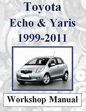 2005 toyota echo repair manual free download