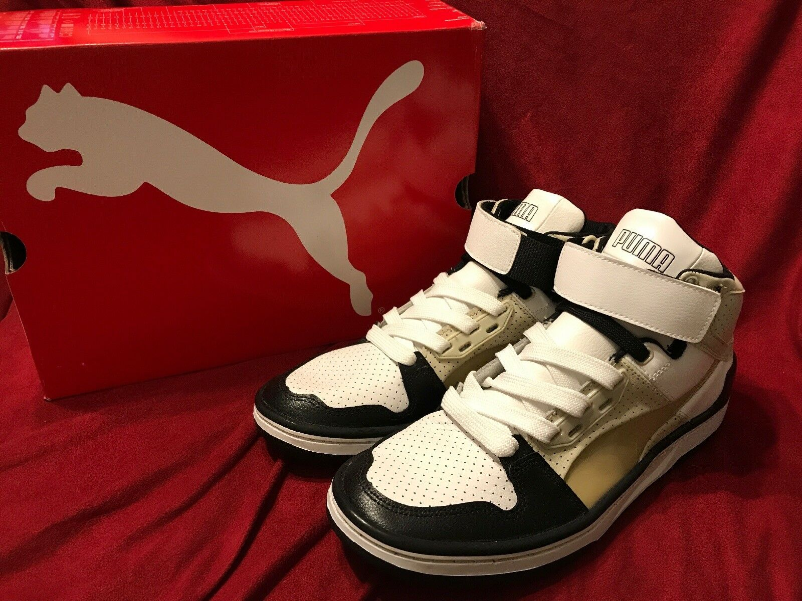 PUMA UNLIMITED HI EVO CUP LX Men's Basketball shoes Size 9.5 New In Box
