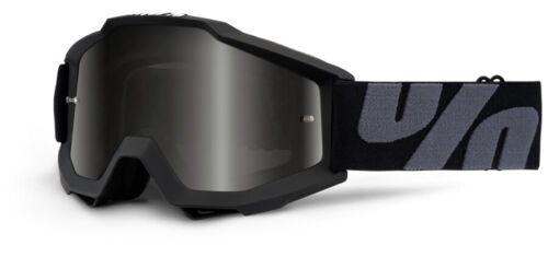100/% MX Motocross ACCURI Sand//OTG Goggles Superstition UTV//ATV w// Smoke Lens