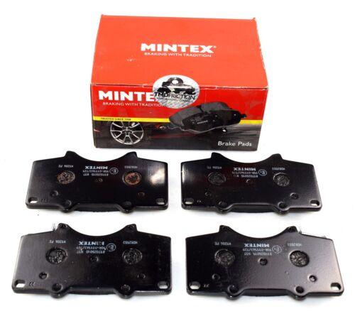 Mintex Essieu Avant Plaquettes de freins Mitsubishi Toyota MDB2553 Real Image de partie