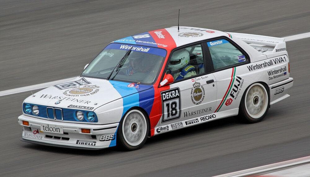 Prix Spécial BMW m3 e30  DTM 1990 Dieter Quester  en 1 18 sur mesure