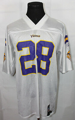 NFL Store Minnesota Vikings Adrian Peterson White Jersey L | eBay