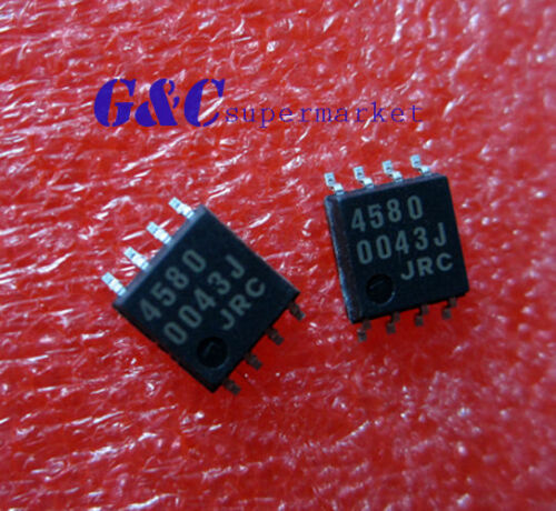 50PCS JRC4580 SOP8 JRC LOW LOISE OPAMP NEW GOOD QUALITY S1